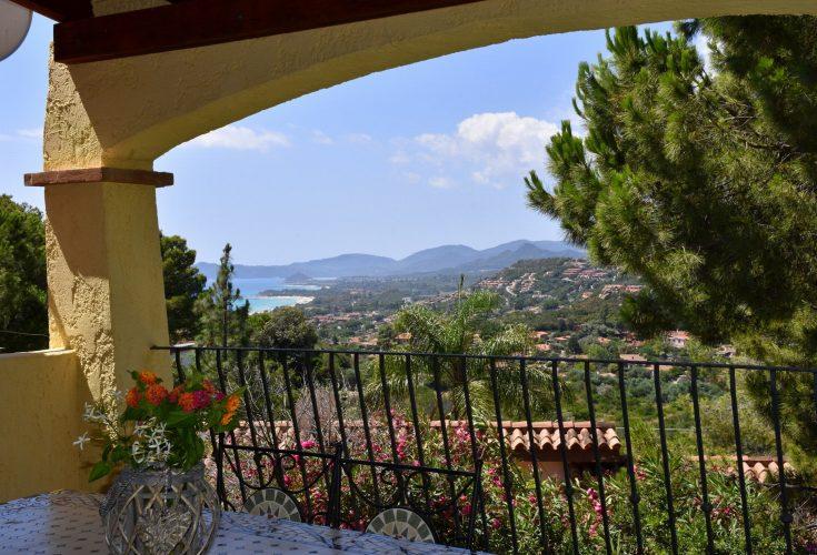 Villino Belvedere veranda vista mare